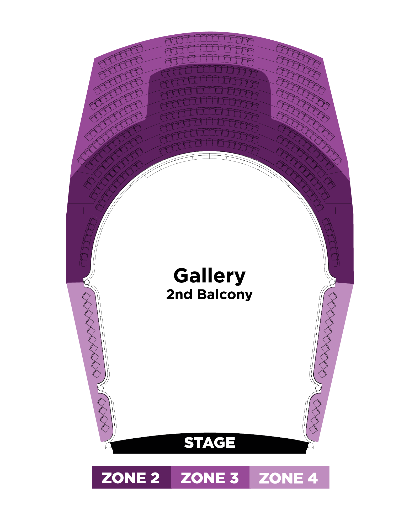 Gallery Seating Map