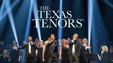 The Texas Tenors return to the Gallagher Bluedorn